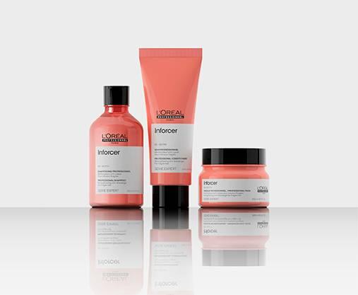 Professional range for giving volume to limp, fine hair