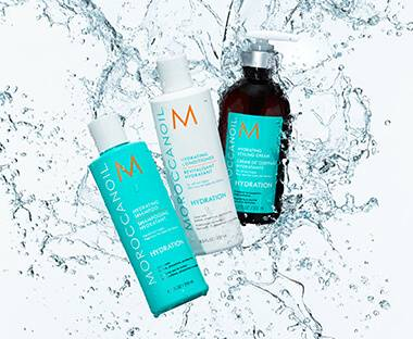 Moroccanoil Hydrating Masks, Cremes and Shampoo