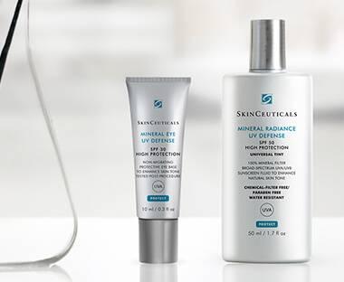 Skinceuticalsin valikoima suojaamaan ihoa