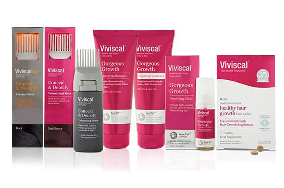 VIVISCAL   VOTED THE 'BEST HAIR SUPPLEMENT' IN THE UK