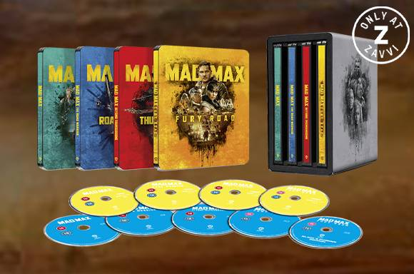 MAD MAX ANTHOLOGY STEELBOOK COLLECTION