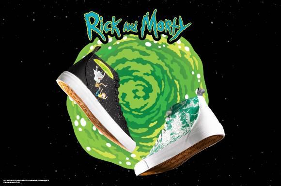 Akedo x Rick & Morty<BR>Akedo x Rick & Morty<BR>Signature High Top Sneakers