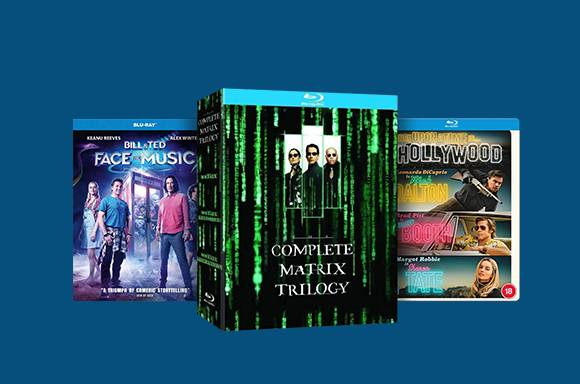 Blu-Ray And 4K UHD