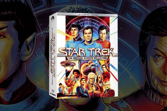 Star Trek: The Original 4-Movie 4K Collection