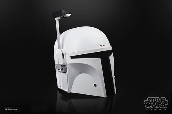 <b> 孩之宝黑色系列星球大战波巴-菲特(原型盔甲)角色扮演模型头盔 </b>