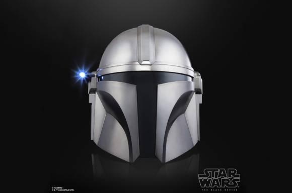 <b> 星球大战黑系列曼达洛人电子头盔 </b>