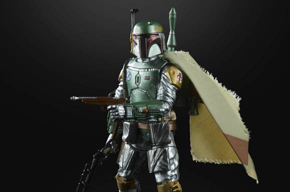 Hasbro Star Wars The Black Series Carbonized Metallic Boba Fett Action Figure