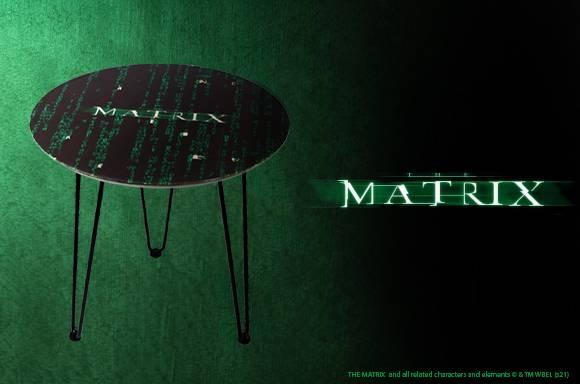 The Matrix Beistelltisch aus Holz
