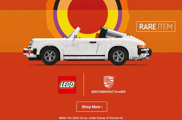 LEGO Creator Expert: Porsche 911 Collectable Model