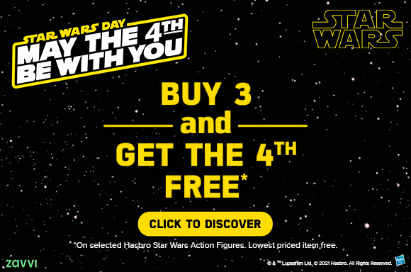 Buy 3 Star Wars Action Figures Get A 4th Free