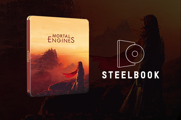 Mortal Engines 4K UHD Steelbook