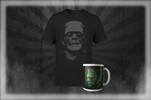 Frankenstein T-Shirt & Tasse