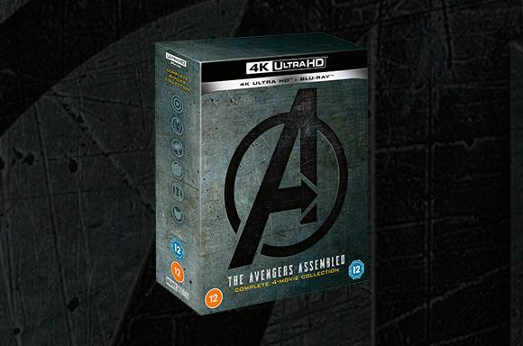 Avengers 1-4 4K UHD Collection
