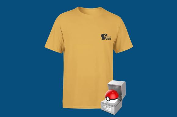 Pokeball & T-shirt Bundle