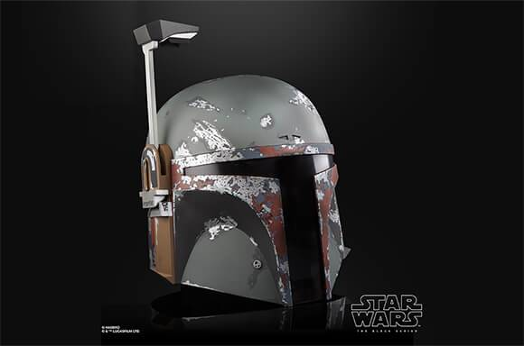 Hasbro Star Wars The Black Series Boba Fett Premium Electronic Helmet