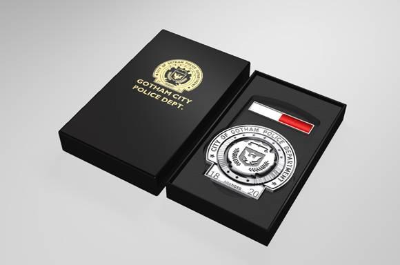 DC Comics Batman Trilogy Gotham Police Badge Limited Edition Replica