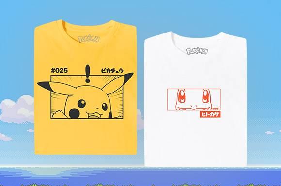 Pokémon T-Shirts from £8.99