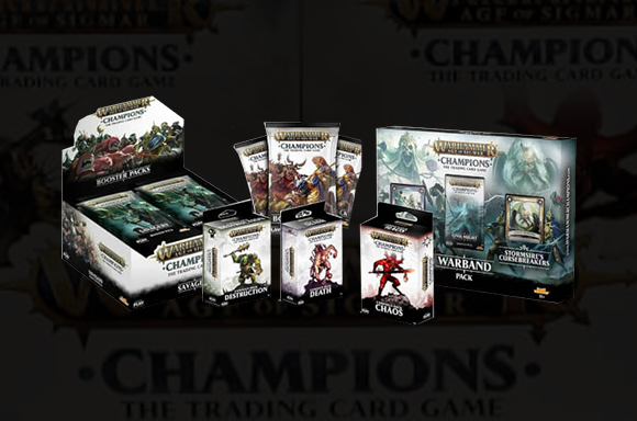 Warhammer Age of Sigmar Deluxe Trading Card Game Mega Bundle