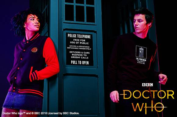 30% Off Doctor Who Clothing