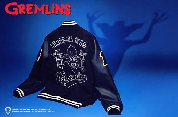 Original Hero x Gremlins Varsity Jacket