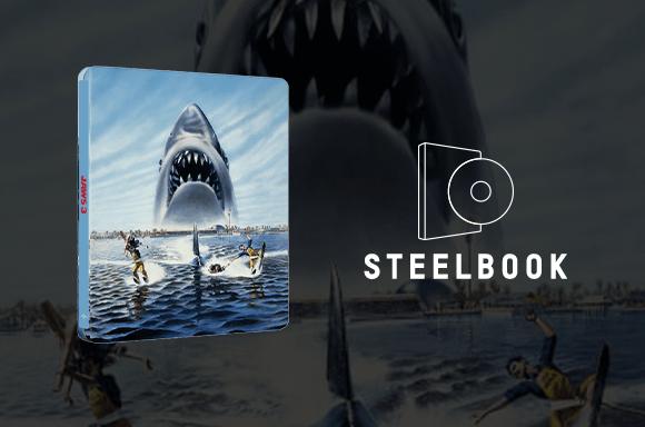 Jaws 3 Steelbook