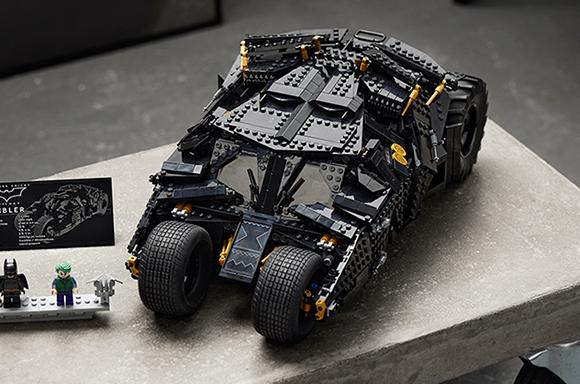 LEGO DC Batman Batmobile Tumbler Car Set (76240)