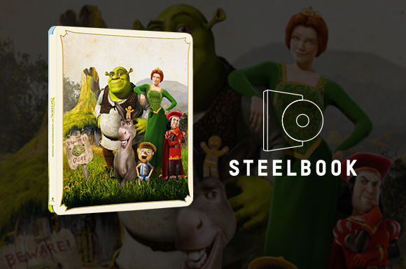 Shrek Zavvi Exclusive 20th Anniversary Steelbook