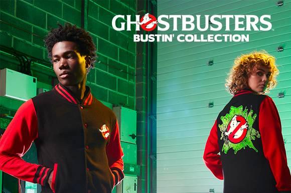 Ghostbusters Slime Varsity Jacket