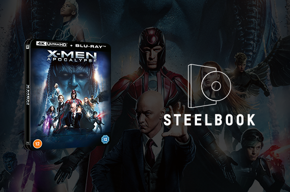 X-Men: Apocalypse  4K Ultra HD Lenticular Steelbook