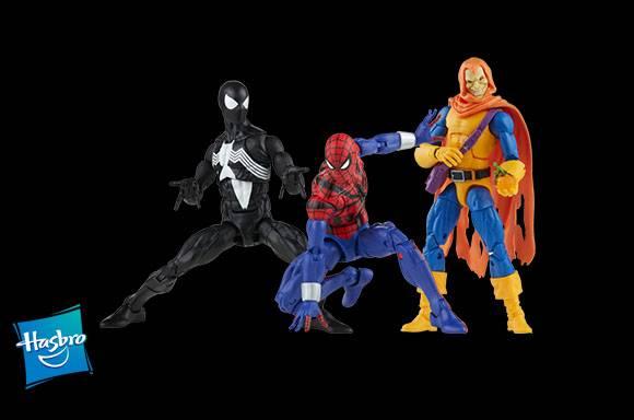 SPIDER-MAN ACTION FIGURES!