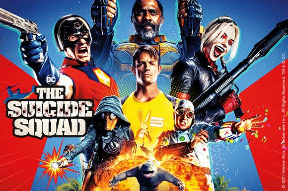 THE SUICIDE SQUAD 4K Blu-Ray