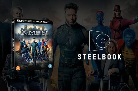 X-Men Days of Future Past Lenticular Steelbooks