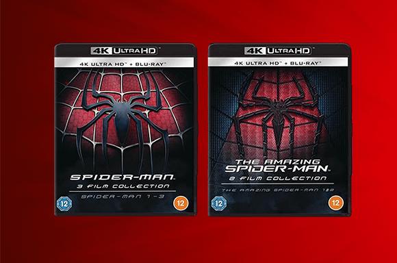 Complete Spider-Man Box Sets!