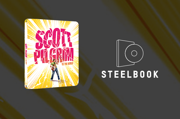 Scott Pilgrim Vs The World 4K UHD Steelbook