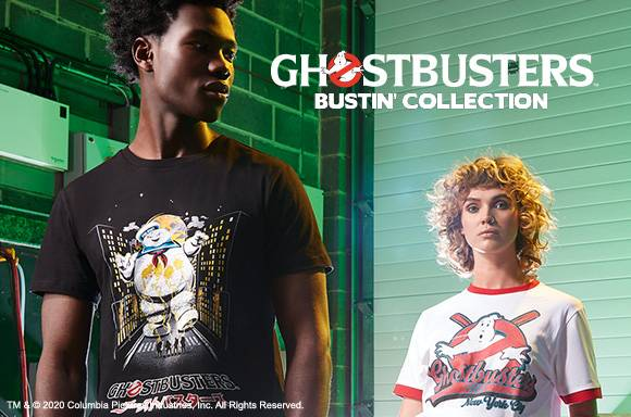35% Off Ghostbusters Clothing Collection