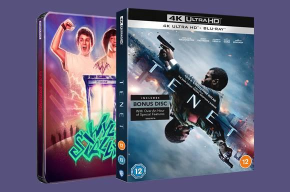 Warner 4K UHD Blu-Ray 2 FOR £30
