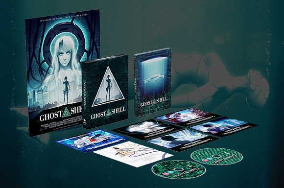GHOST IN THE SHELL LIMITED EDITION 4K STEELBOOK