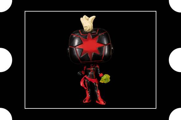 Marvel Comics Dark Captain Marvel SDCC 2020 EXC Pop! Vinyl Figure