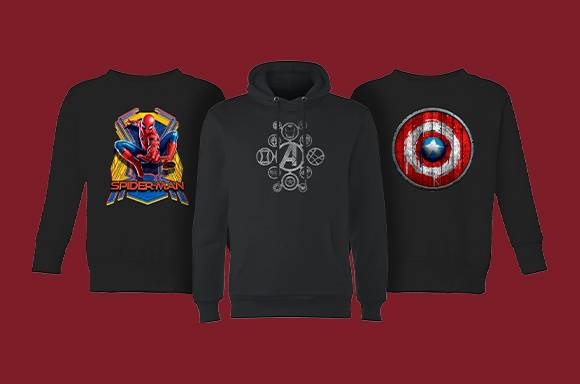 40% Off Marvel Hoodies And Sweats