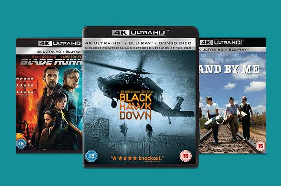 3 for £30 - 4K Ultra HD