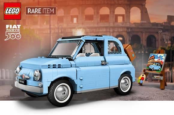 LEGO CREATOR EXPERT FIAT 500 BABY BLUE (77942)