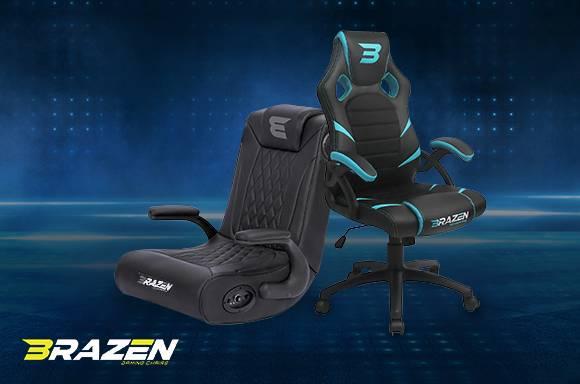 10% Off Brazen gaming chairs