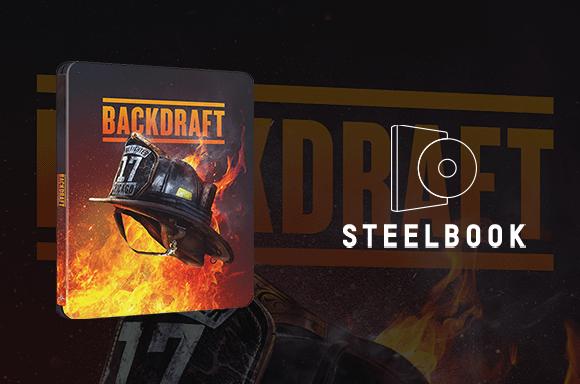 Backdraft 4K UHD Steelbook