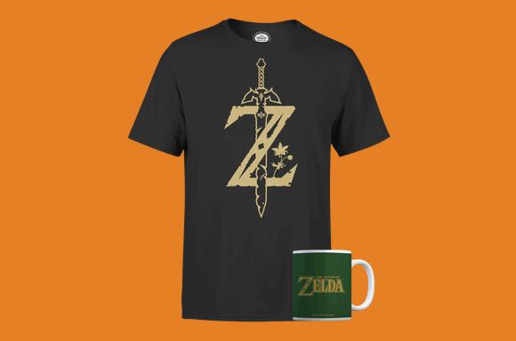 Zelda Mug & Tee Bundle!