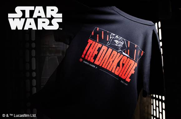 Star Wars Limited Edition Darth Vader Puff Print Unisex