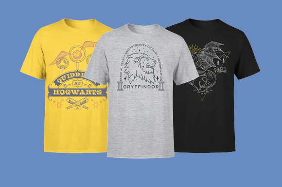 2 Harry Potter Adult Tees For £18.99
