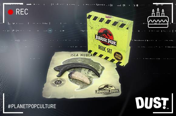 JURASSIC PARK LIMITED EDITION COLLECTOR'S REPLICA SET!