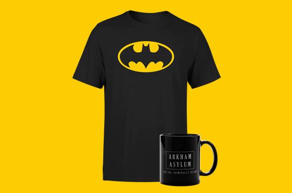 Batman Mug And Tee Bundle