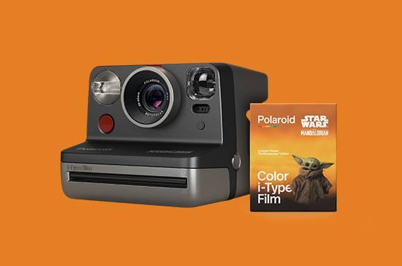 Mandalorian Polaroid Camera