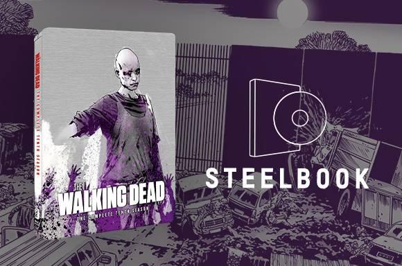 The Walking Dead Season 10 Zavvi Exclusive Steelbook